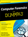 Computer Forensics For Dummies® (eBook)