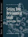 Setting Your Development Goals (eBook): Start with Your Values