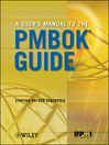 A User's Manual to the PMBOK Guide (eBook)