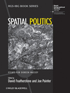 Spatial Politics (eBook): Essays For Doreen Massey