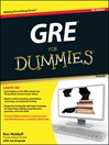 GRE For Dummies (eBook)