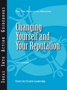Changing Yourself and Your Reputation (eBook)