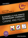 Blackwell's Five-Minute Veterinary Consult (eBook): Canine and Feline