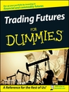 Trading Futures For Dummies (eBook)