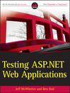 Testing ASP.NET Web Applications (eBook)