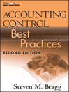 Accounting Control Best Practices (eBook)