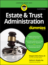 Estate and Trust Administration For Dummies  2 by Margaret Atkins Munro eBook