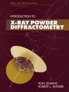 Introduction to X-Ray Powder Diffractometry eBook