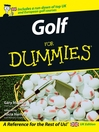 Golf For Dummies (eBook)