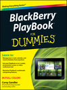 BlackBerry PlayBook For Dummies (eBook)