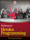 Professional Heroku Programming (eBook)
