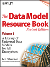 The Data Model Resource Book (eBook): A Library of Universal Data Models for All Enterprises