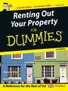 Renting Out Your Property For Dummies, UK Edition (eBook)