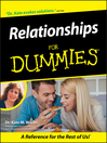 Relationships For Dummies (eBook)