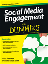 Social Media Engagement For Dummies (eBook)