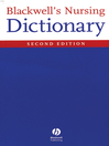 Blackwell's Nursing Dictionary (eBook)