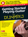 Getting Started Playing Guitar For Dummies
