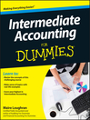 Intermediate Accounting For Dummies (eBook)