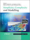 Simplicity, Complexity and Modelling (eBook)