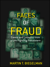 Faces of Fraud (eBook): Cases and Lessons from a Life Fighting Fraudsters