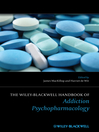 The Wiley-Blackwell Handbook of Addiction Psychopharmacology (eBook)