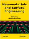 Nanomaterials and Surface Engineering (eBook)