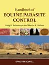 Handbook of Equine Parasite Control (eBook)