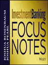Investment Banking Focus Notes (eBook)