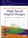 Advanced Signal Integrity for High-Speed Digital Designs (eBook)