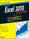 Excel 2010 Just the Steps For Dummies (eBook)