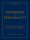 Disorders of Personality (eBook): Introducing a DSM/ICD Spectrum from Normal to Abnormal