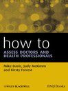 How to Assess Doctors and Health Professionals (eBook)