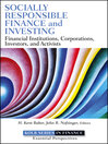 Socially Responsible Finance and Investing (eBook): Financial Institutions, Corporations, Investors, and Activists