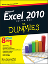 Excel 2010 All-in-One For Dummies (eBook)