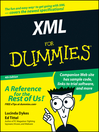 XML For Dummies (eBook)