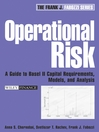 Operational Risk (eBook): A Guide to Basel II Capital Requirements, Models, and Analysis