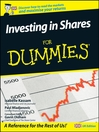 Investing In Shares For Dummies, UK Edition (eBook)