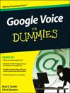Google Voice For Dummies (eBook)