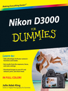 Nikon D3000 For Dummies (eBook)
