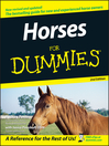 Horses For Dummies (eBook)