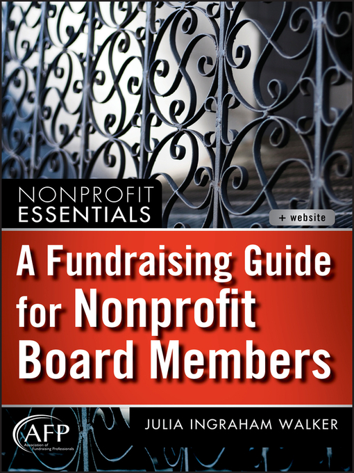 A Fundraising Guide for Nonprofit Board Members (eBook)