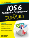iOS 6 Application Development For Dummies (eBook)