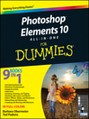 Photoshop Elements 10 All-in-One For Dummies (eBook)