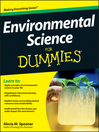 Environmental Science For Dummies (eBook)