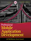 Professional Mobile Application Development (eBook)