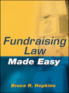 Fundraising Law Made Easy (eBook)