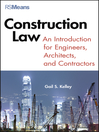 Construction Law (eBook): An Introduction for Engineers, Architects, and Contractors