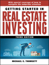 Getting Started in Real Estate Investing (eBook): Getting Started In..... Series, Book 77