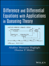 Difference and Differential Equations with Applications in Queueing Theory (eBook)