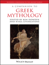 A Companion to Greek Mythology (eBook)